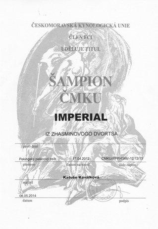 Šampion ČMKU